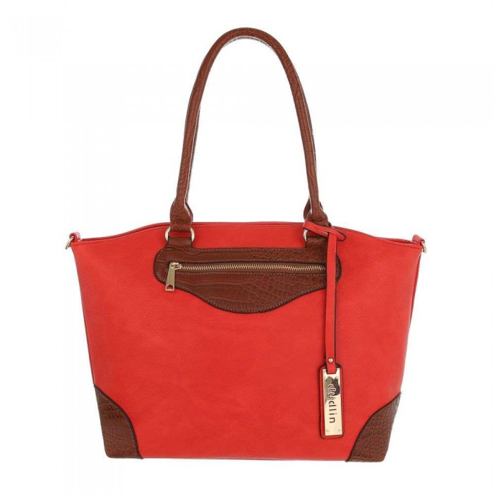 Damen Shopper - red