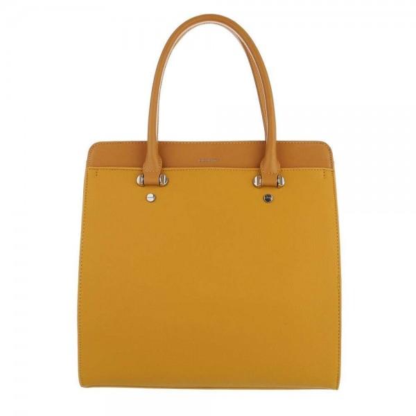Geltona moteriška rankinė
