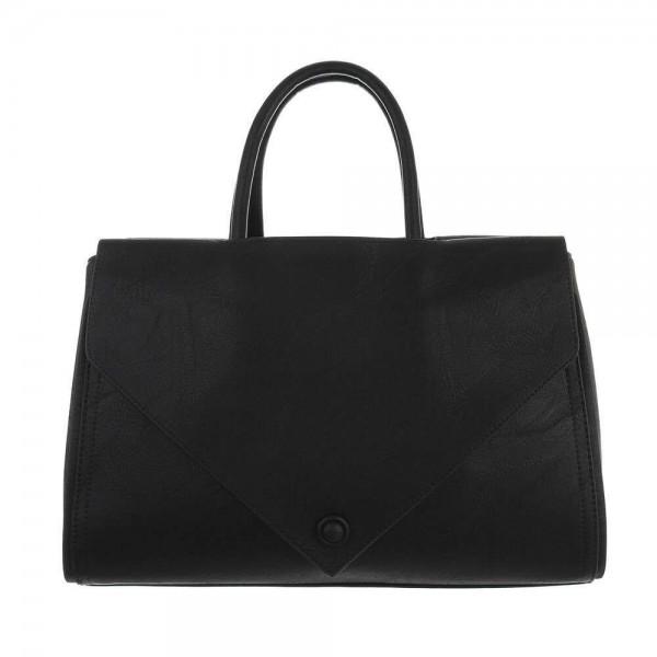 Juodas moteriškas didelis krepšys
