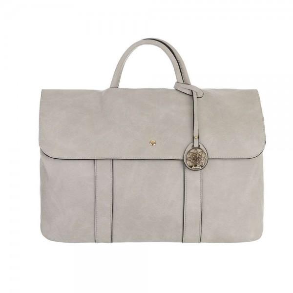 Smėlio spalvos moteriškas didelis krepšys